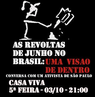 Kesta merda?! por dentro das revoltas no Brasil