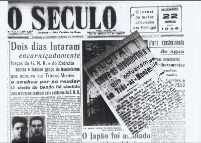 Jornal «O Século» de 22-12-1946