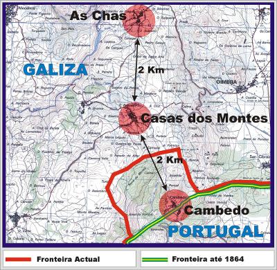 Mapa da pormenor da zona
