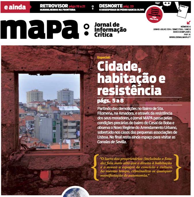 Jantar de apoio ao jornal MAPA - 17 Julho no RDA