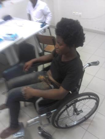Relato de Laurinda Gouveia, agredida pela polícia angolana