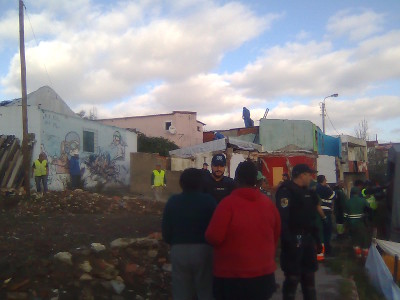 Demolições em Santa Filomena