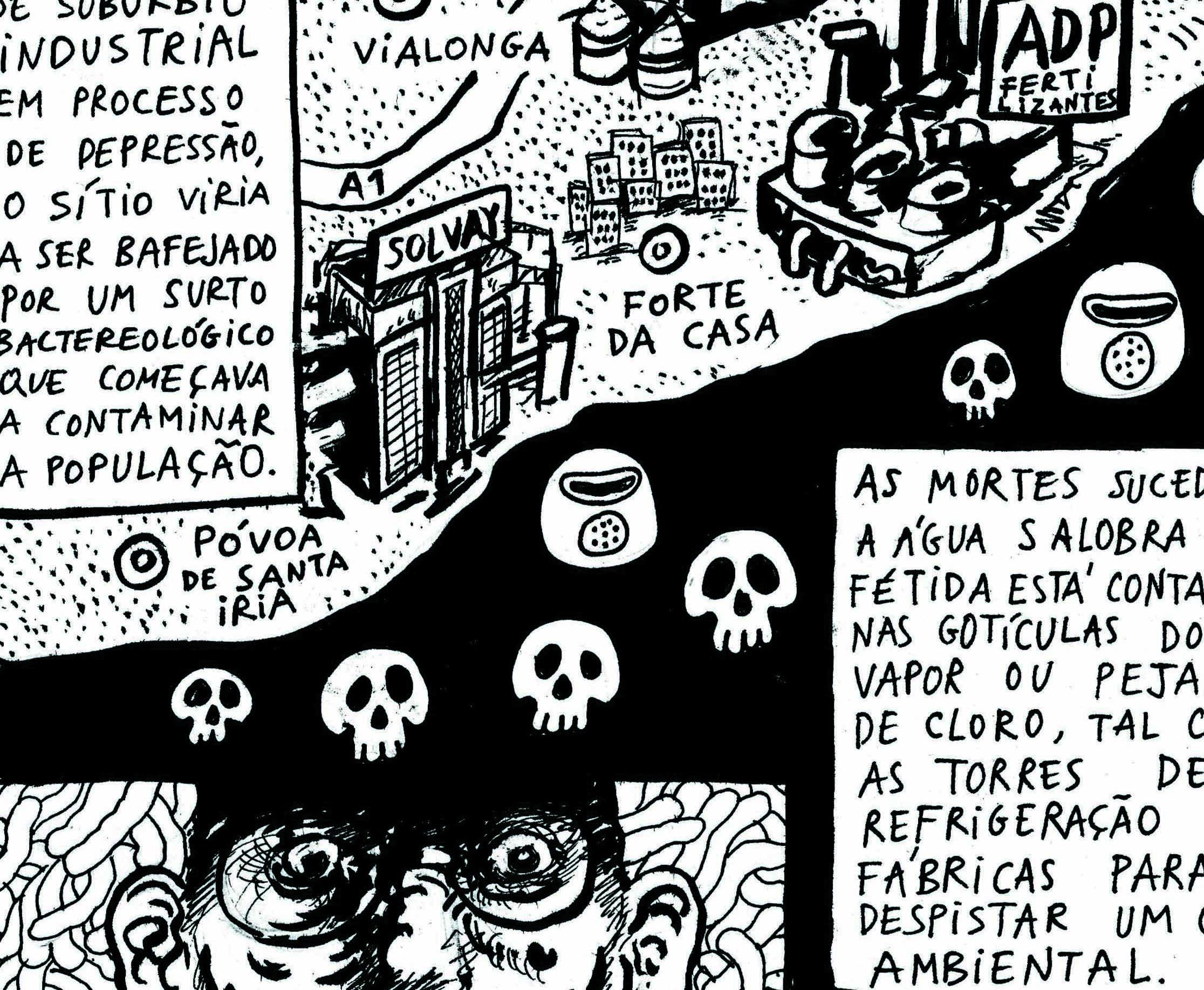 Morte na Póvoa de Sta Iria (Mapa Borrado #8)