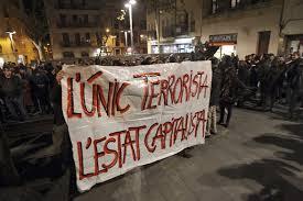 Comunicado desde Barcelona sobre a operação policial