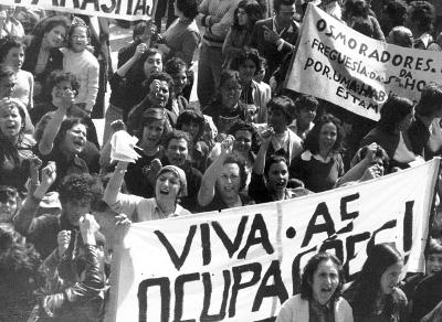 Concentração na Arrábida - 17 de Maio de 1975. Fotografia de Alves Costa. Centro de Documentação 25 de Abril