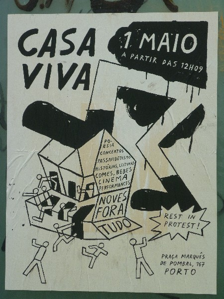 Rest in Protest! Casa viva 2006 - 2015