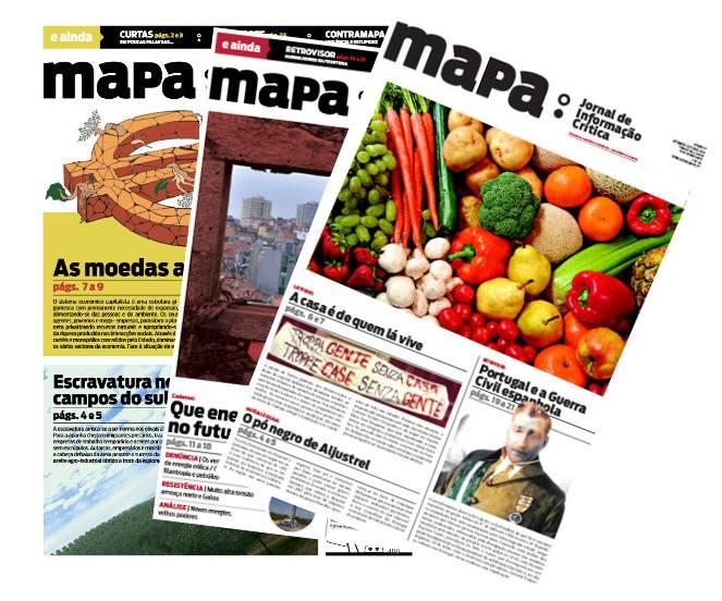 Jantar de apoio ao jornal MAPA