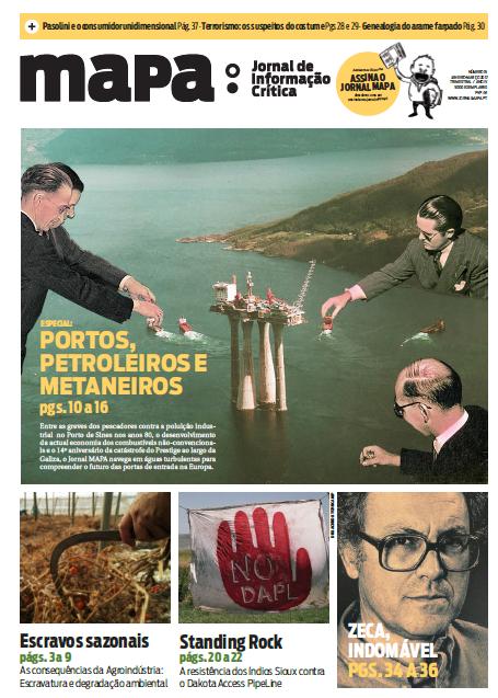 Está aí o nº 15 do Jornal MAPA (Janeiro-Março 2017)