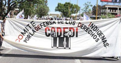 Comunicado da Brigada Internacional de Solidariedade com CODEDI