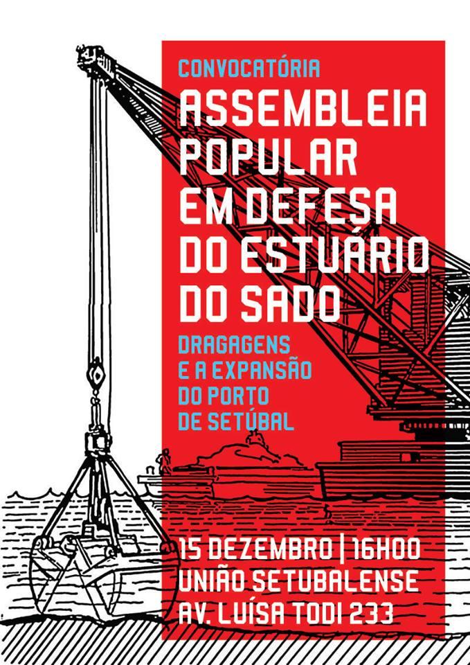O Povo E Solidario Na Defesa Do Estuario Jornal Mapa