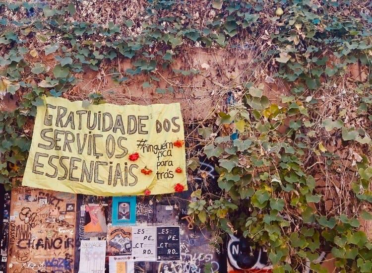 Cantina Solidária do Regueirão dos Anjos: não é caridade, mas sim amizade e interajuda