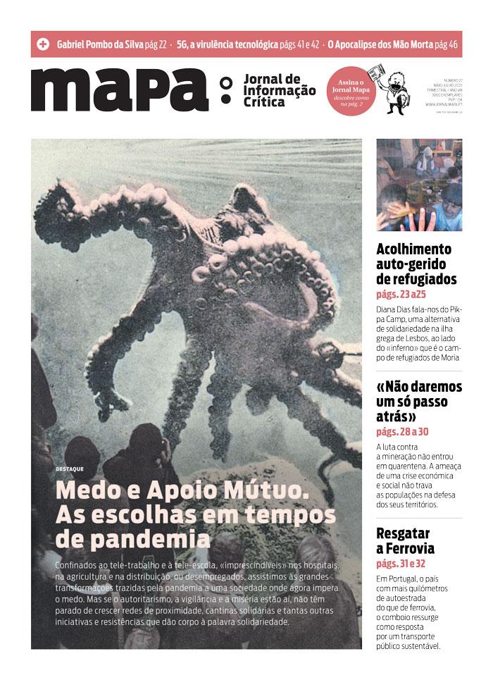 Está nas ruas o jornal MAPA