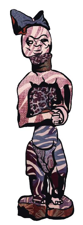 Candomblé. Ilustração: Ana Farias