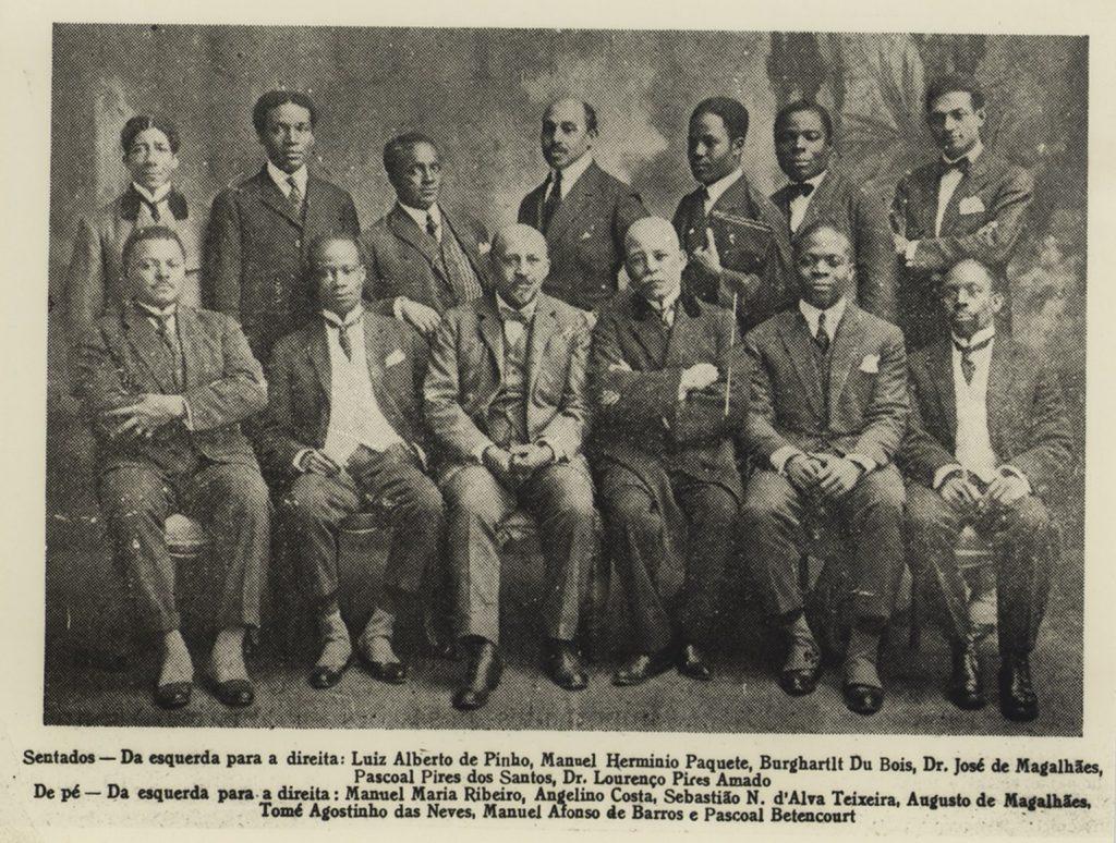 Membros do III Congresso Pan-africano. Lisboa: maio 1923.