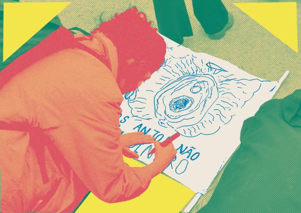 Este país não é para mulheres - Jornal Mapa. Ilustração: Catarina Leal