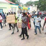 manifestação Angola