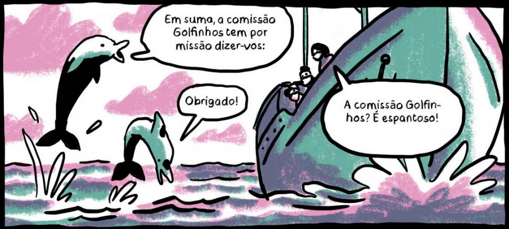 A Viagem pela Vida -  Golfinhos